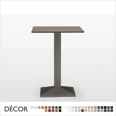 STEP TABLE BASE, SQUARE