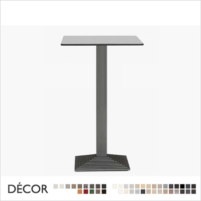 STEP BAR HEIGHT TABLE BASE SQUARE