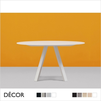 ARKI ROUND TABLE, LAMINATE TOP