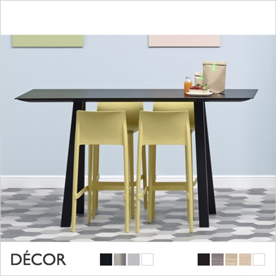ARKI BAR-HEIGHT TABLE, LAMINATE TOP