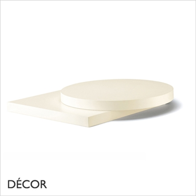 30MM LAMINATE TOP, IVORY