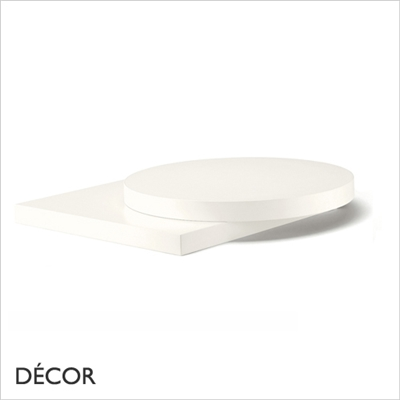 30MM LAMINATE TOP, WHITE
