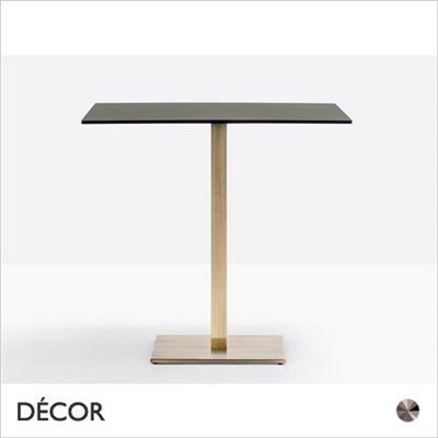 INOX TABLE BASE, SQUARE