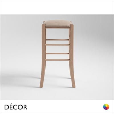 PAESANA BAR STOOL, ECO LEATHER & DESIGNER FABRICS