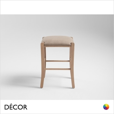 PAESANA LOW STOOL, ECO LEATHER & DESIGNER FABRICS