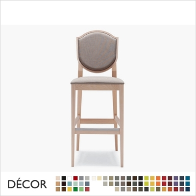 BLASON BARSTOOL, ECO LEATHER & DESIGNER FABRICS