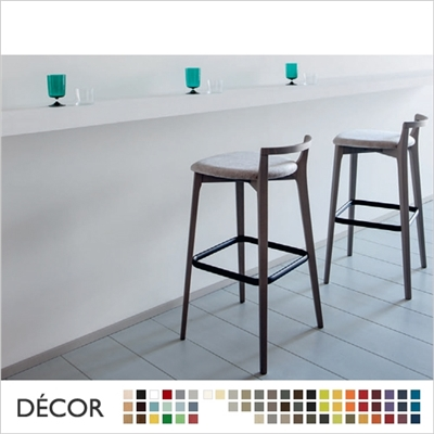 METRO BARSTOOL, ECO LEATHER & DESIGNER FABRICS