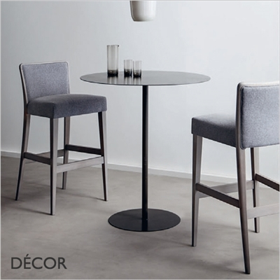 NOB BARSTOOL, ECO LEATHER & DESIGNER FABRICS