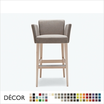 NOBLESSE BARSTOOL, ECO LEATHER & DESIGNER FABRICS