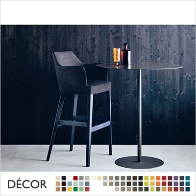 OSCAR BARSTOOL, ECO LEATHER & DESIGNER FABRICS
