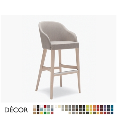 ROALD BARSTOOL, ECO LEATHER, ECO SUEDE OR FABRIC