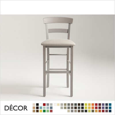 ROMA BARSTOOL, ECO LEATHER, ECO SUEDE OR FABRIC
