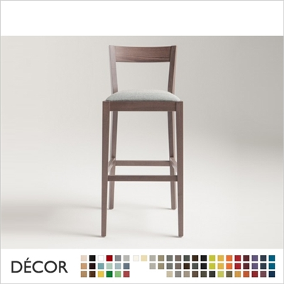 SILLA BARSTOOL, ECO LEATHER & DESIGNER FABRICS
