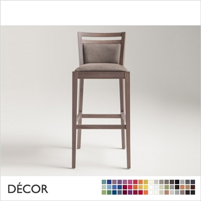 SURI BARSTOOL, ECO LEATHER, ECO SUEDE OR FABRIC