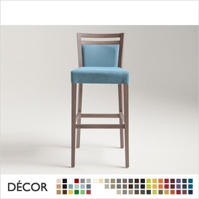 SURI SOFT BARSTOOL, ECO LEATHER & DESIGNER FABRICS