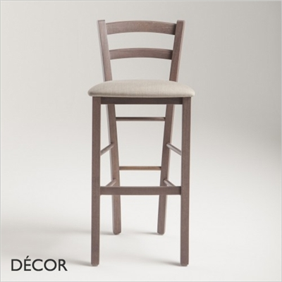 VENEZIA BARSTOOL, ECO LEATHER & DESIGNER FABRICS