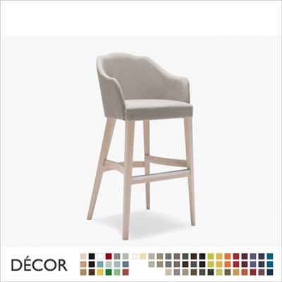 VIRGINIA BARSTOOL, ECO LEATHER & DESIGNER FABRICS