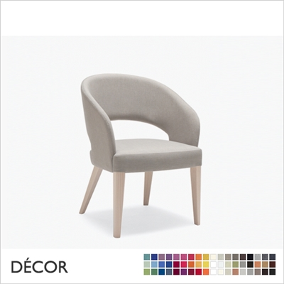RAY CHAIR, LARGE, ECO LEATHER, ECO SUEDE OR FABRIC
