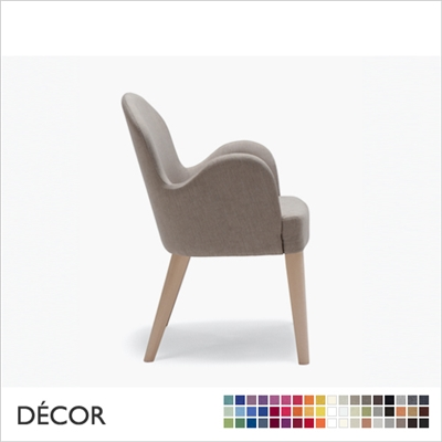ROALD CHAIR, LARGE,. ECO LEATHER, ECO SUEDE OR FABRIC