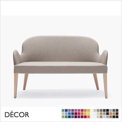 ROALD DINING SOFA, ECO LEATHER, ECO SUEDE OR FABRIC
