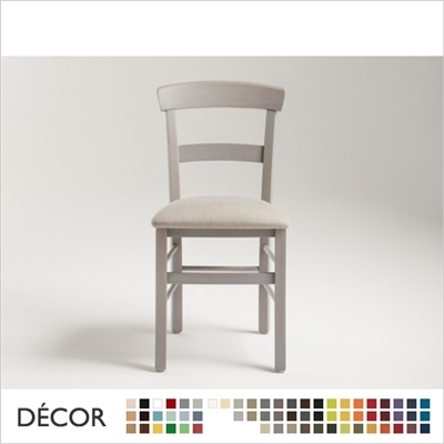 ROMA CHAIR, ECO LEATHER & DESIGNER FABRICS