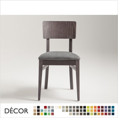 RETRO CHAIR, ECO LEATHER & DESIGNER FABRICS