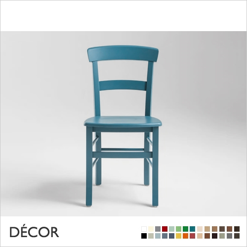 ROMA CHAIR, WOODEN SEAT