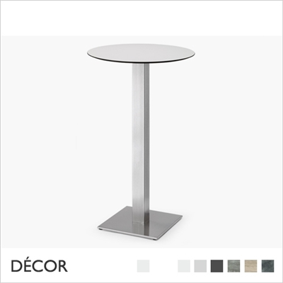TIFFANY BAR HEIGHT TABLE BASE, SQUARE