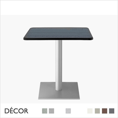 DODO TABLE BASE, SQUARE 700 x 700mm OLIMPO TOP