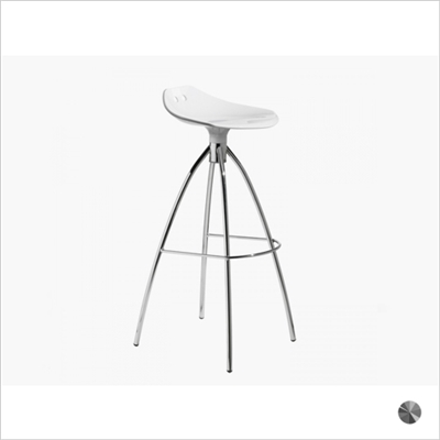 FROG BARSTOOL, POLYCARBONATE, BAR HEIGHT
