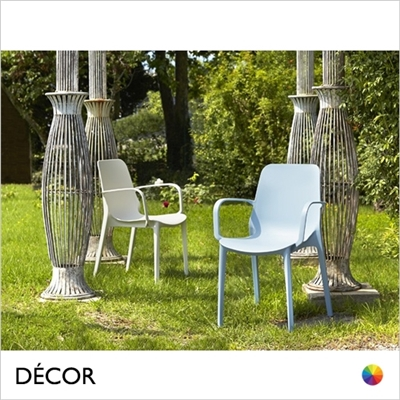 GINEVRA CHAIR WITH ARMRESTS, OUTDOOR