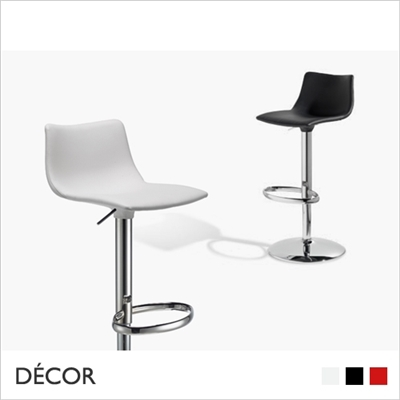 DAY UP POP BARSTOOL, ECO LEATHER, GAS LIFT