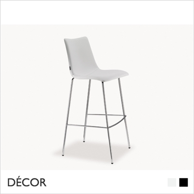 ZEBRA POP BARSTOOL, ECO LEATHER