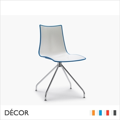 ZEBRA BICOLOUR CHAIR TRESTLE BASE