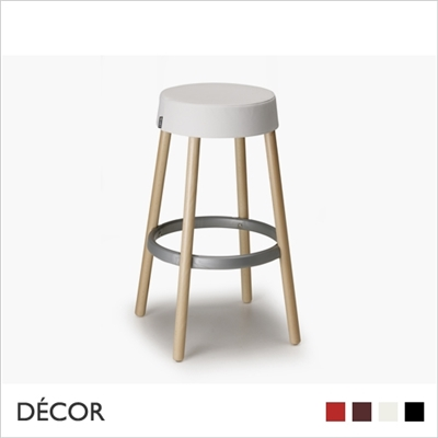 GIM NATURAL BARSTOOL, ECO LEATHER