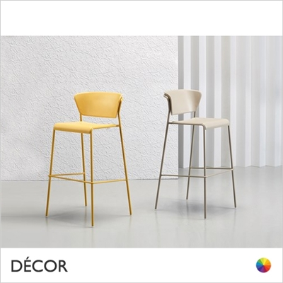 LISA BAR STOOL, TECHNOPOLYMER