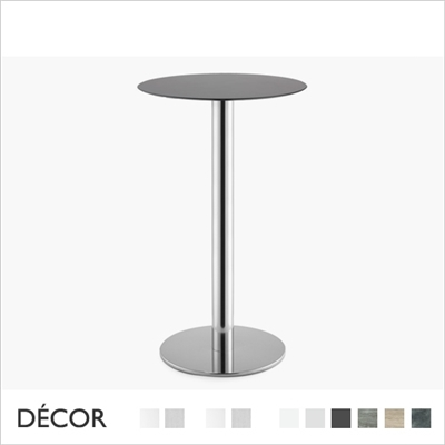 TIFFANY BAR HEIGHT TABLE BASE, ROUND