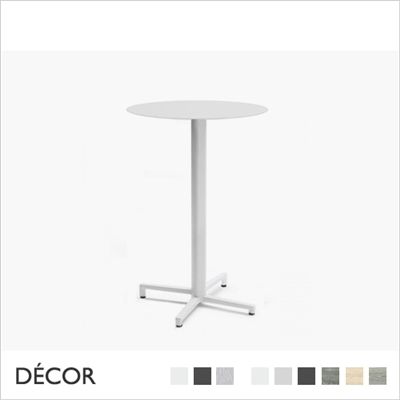 DOMINO FIXED TABLE BASE, BAR HEIGHT
