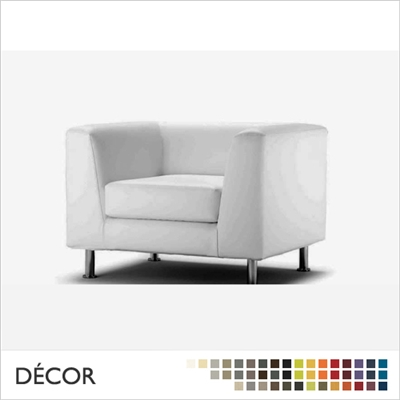 PAOLO ARMCHAIR, ECO LEATHER & DESIGNER FABRICS