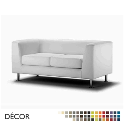 PAOLO SOFA, 2-SEATER & 3-SEATER, ECO LEATHER & DESIGNER FABRICS