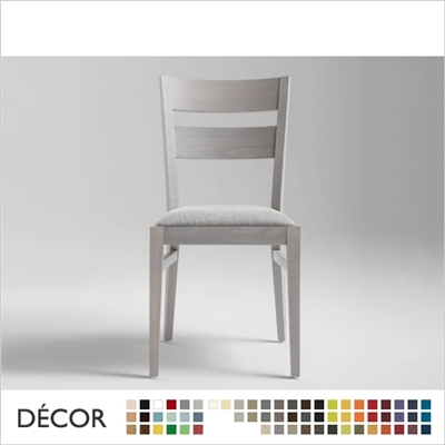 SILLA CHAIR, ECO LEATHER & DESIGNER FABRICS