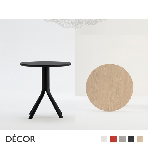 TREE TABLE, ROUND, SOLID ASH, 700mm, 800mm