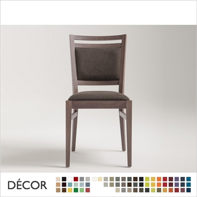 SURI CHAIR, ECO LEATHER & DESIGNER FABRICS