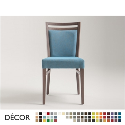 SURI SOFT CHAIR,  ECO LEATHER, ECO SUEDE OR FABRIC