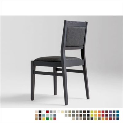 TILDE CHAIR, ECO LEATHER & DESIGNER FABRICS