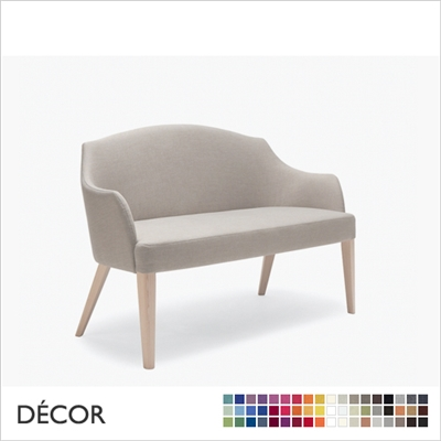 VIRGINIA DINING SOFA, ECO LEATHER, ECO SUEDE OR FABRIC