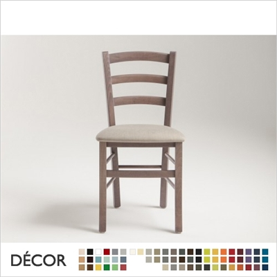 VENEZIA CHAIR, ECO LEATHER & DESIGNER FABRICS