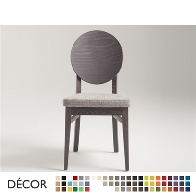 WOODY CHAIR, ECO LEATHER & DESIGNER FABRICS