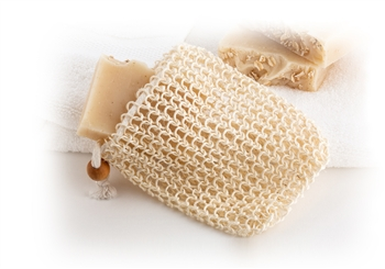 Natural Fiber Sisel Soap Pouch