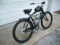 North-woods bicycle motorized